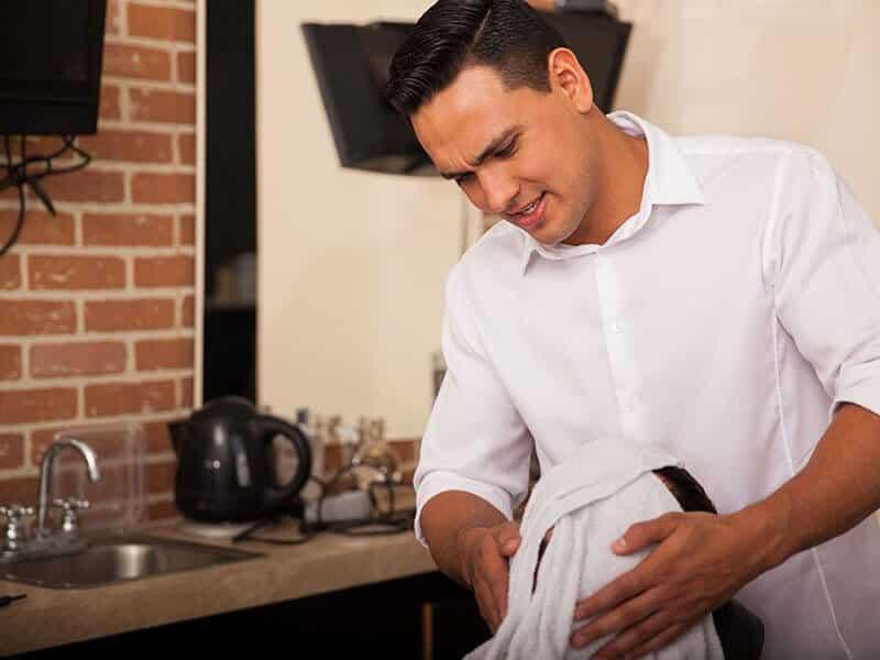 hot towel for shaving