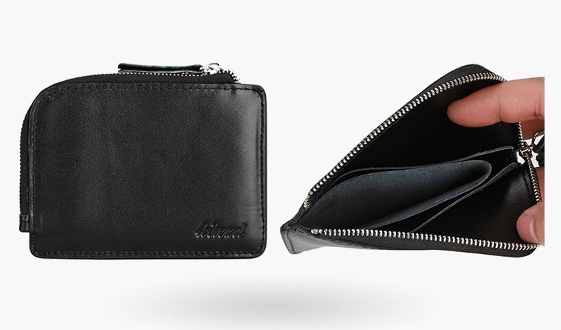 zip wallet with card slot