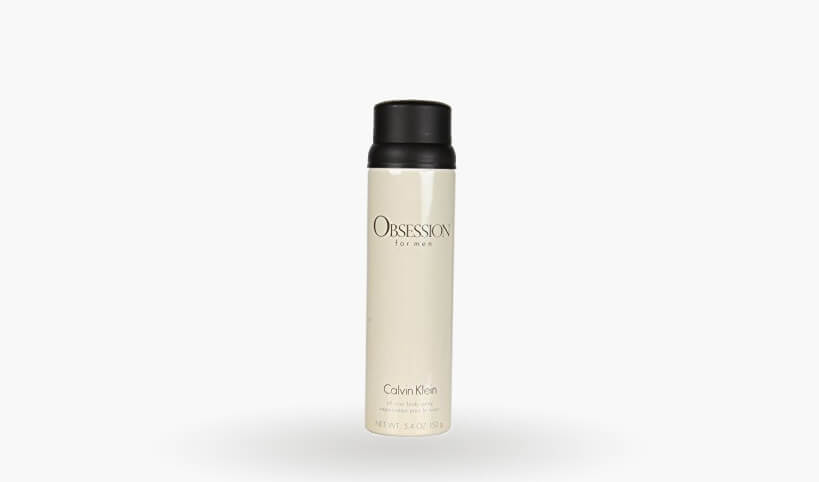 Calvin Klein Cosmetics Obsession for Men All Over Body Spray