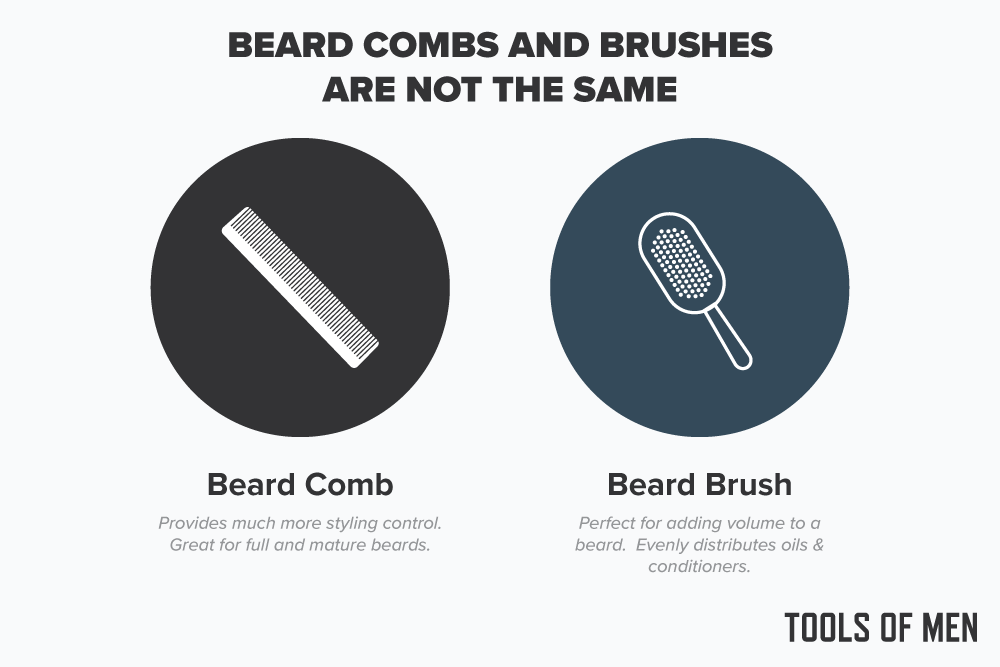 beard combs vs brushes