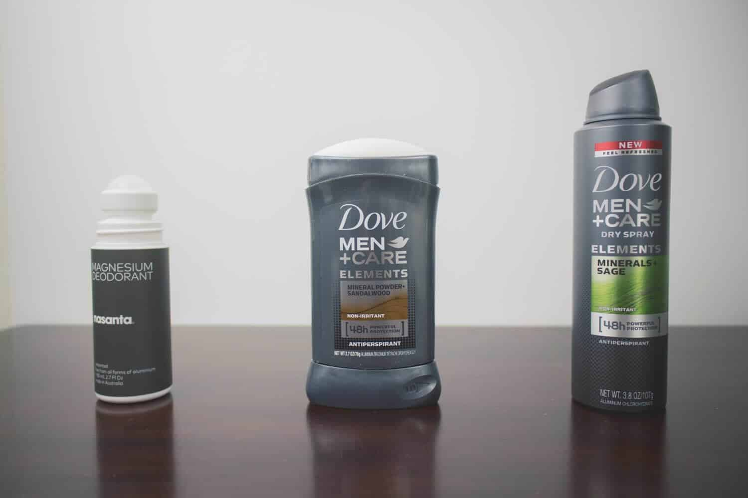 Roll on vs Spray vs Stick Antiperspirants and Deodorants Compared