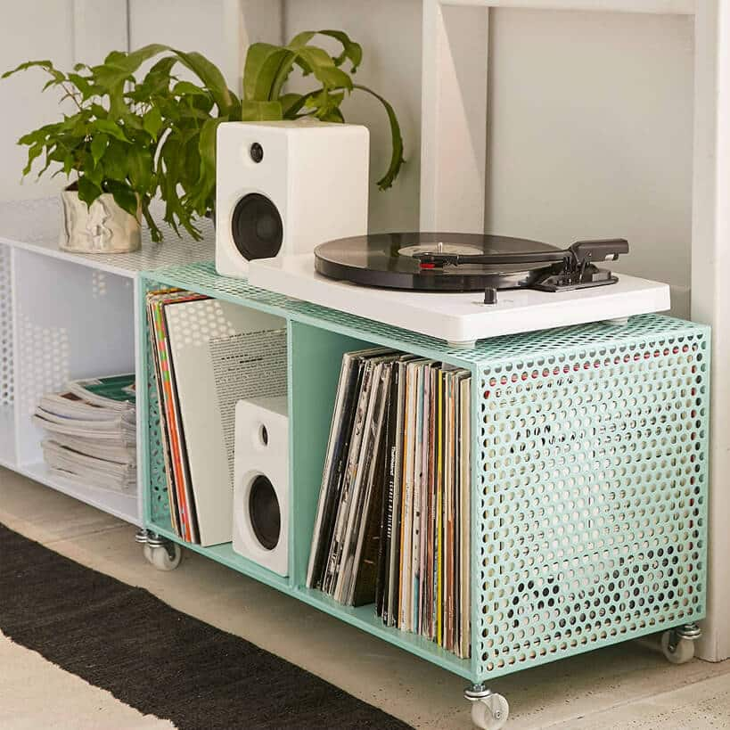 Marvelous Zoey Rolling Storage Bin 10 Best Record Player Stand Brands Reviewed In  2018 Tools Of Men. Extremely Ideas ...