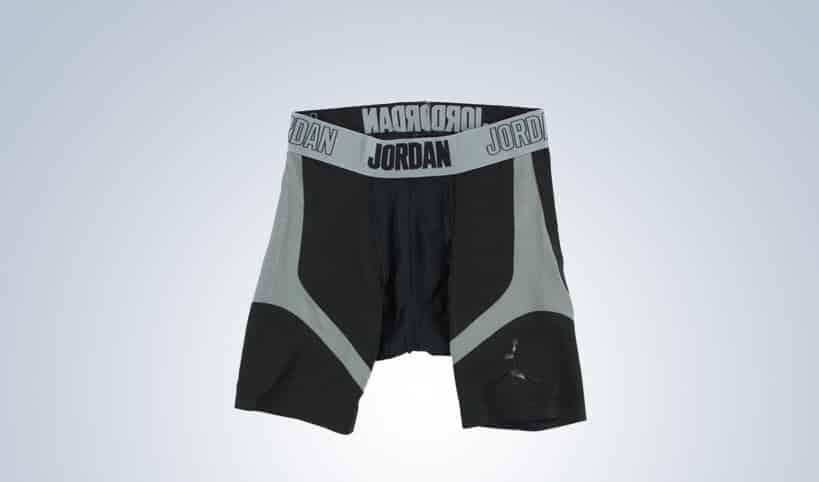 Jordan Mens Stay Cool Six Inch Compression Shorts Black