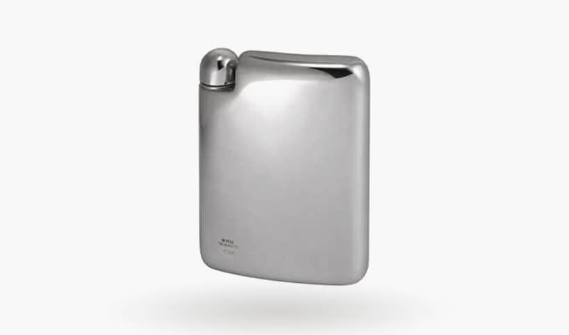Royal Selangor Pewter Hip Flask Designed by Erik Magnussen, 160ml