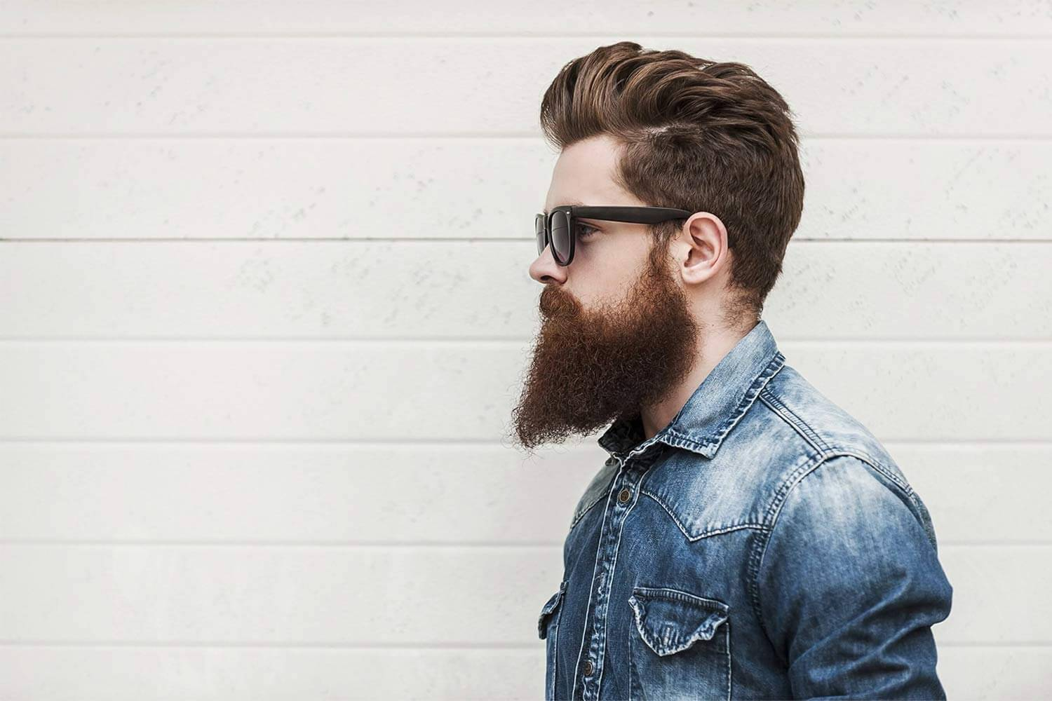 how to straighten your beard