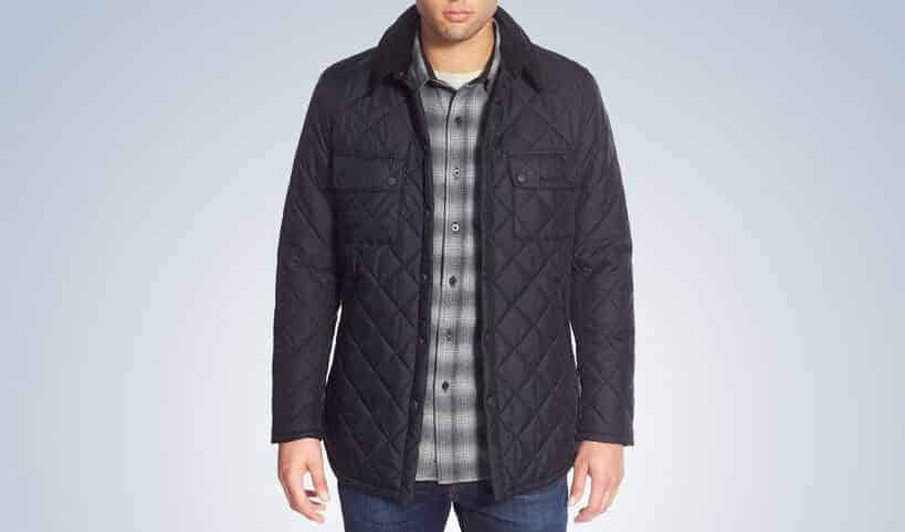 'Akenside' Regular Fit Quilted Jacket