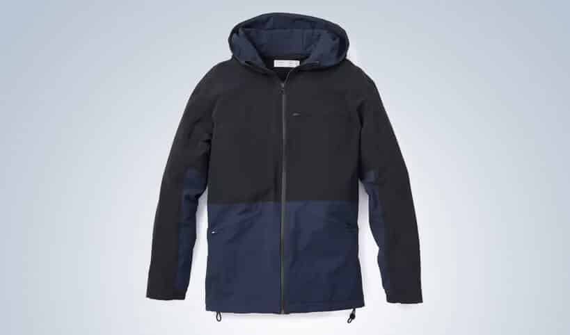 STRETCH CREPE RAIN JACKET