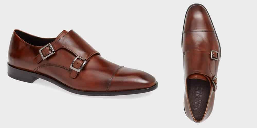 double monk dress shoes