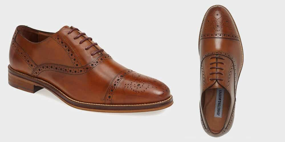 oxford and derby dress shoes