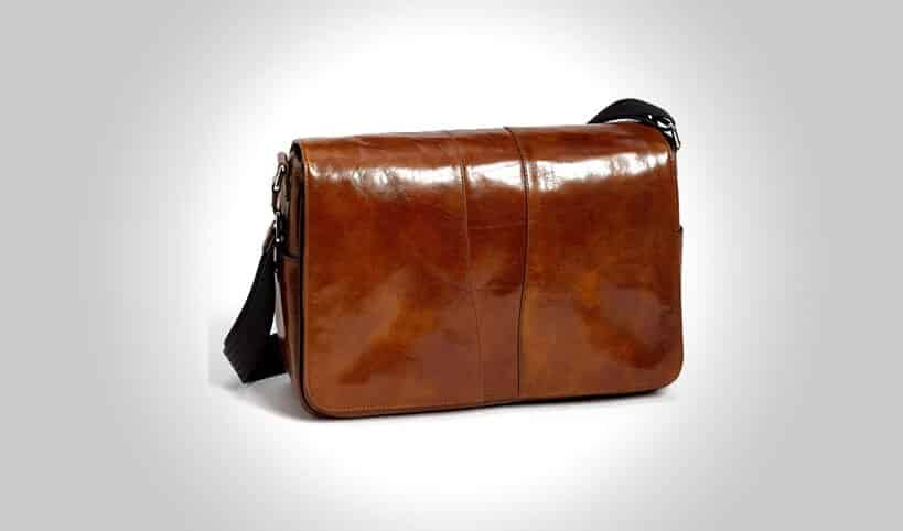 9926b1fa4f 17 Best Leather Messenger Bags For Men That Look Amazing  2019