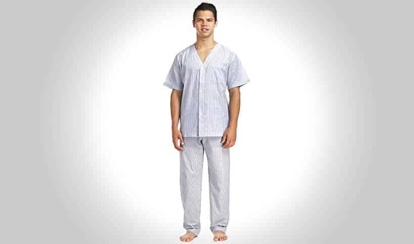 Geoffrey Beene Short Sleeved Printed Pajama Pant