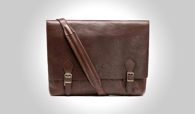 81d4b91820 The Rodd   Gunn Woodstock leather satchel is quite possibly the most  handsome leather bag you will ever own. From the leather used to the way it  is stitched ...
