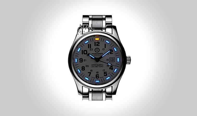 Gosasa tritium luminous dive watch tools of men for Tritium dive watches