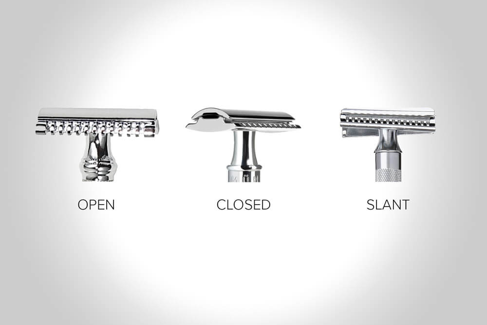 10 Facts About Open vs Closed vs Slant Safety Razor Heads