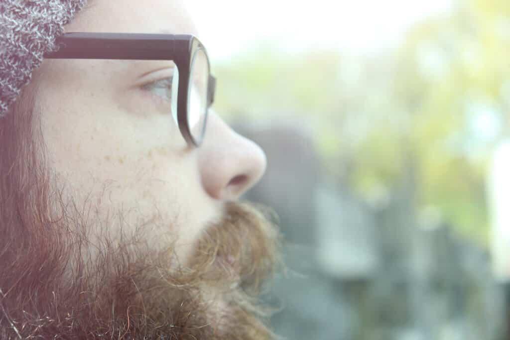 beard looks like pubes