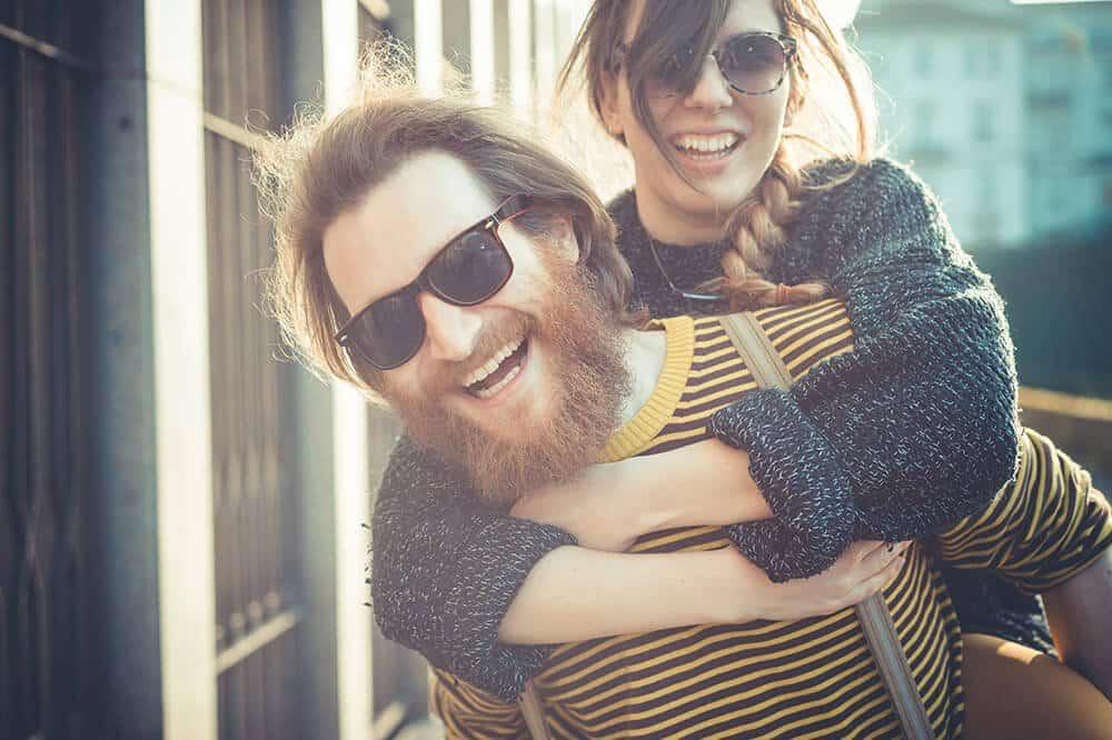 beard smiling