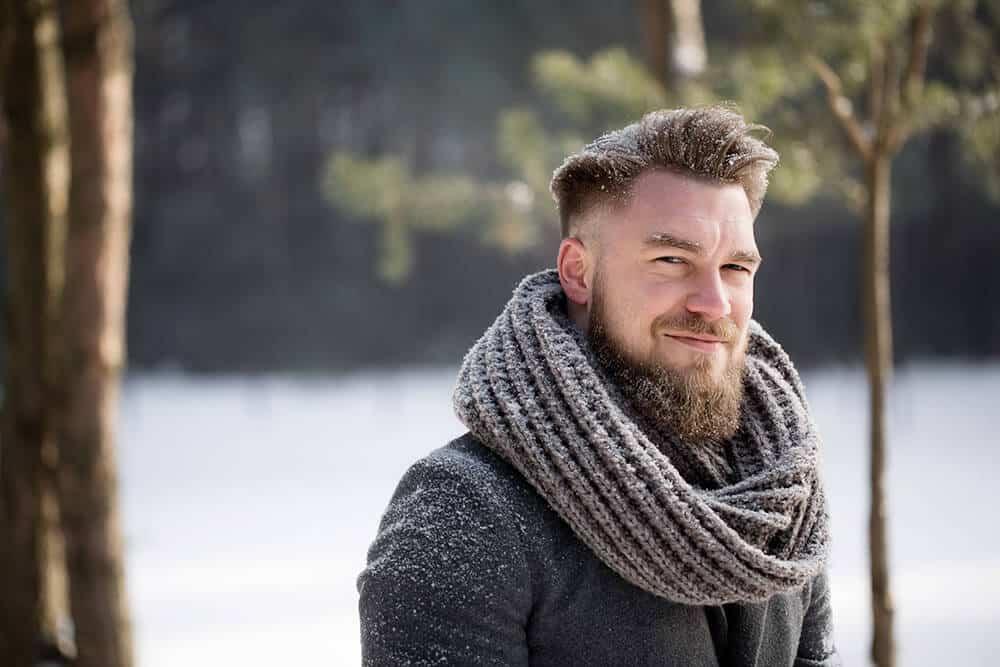 beard trim neckline too high