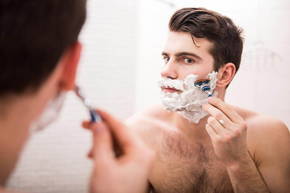 shaving techniques for sensitive skin