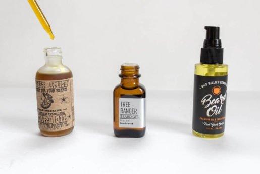 bottle design of beard oil