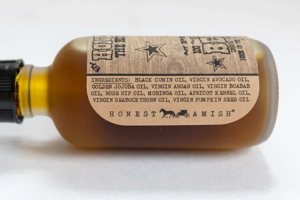 honest amish premium ingredient list