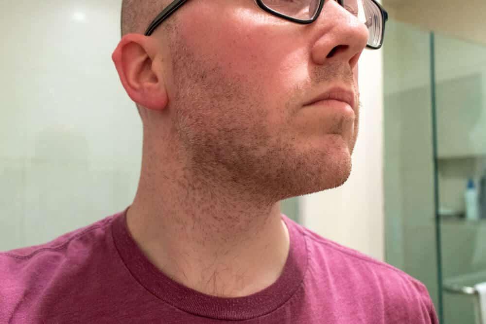 harrys review - beard before shaving
