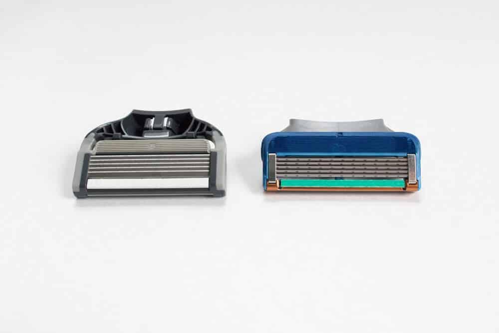 harrys review comparison - razor heads