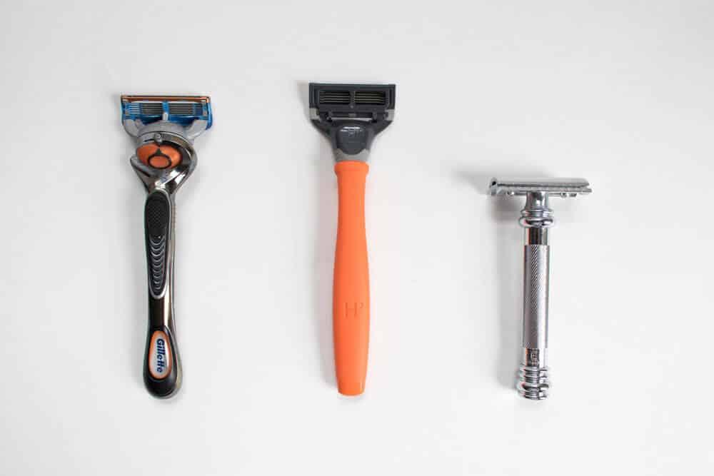 harrys review comparison - razor length