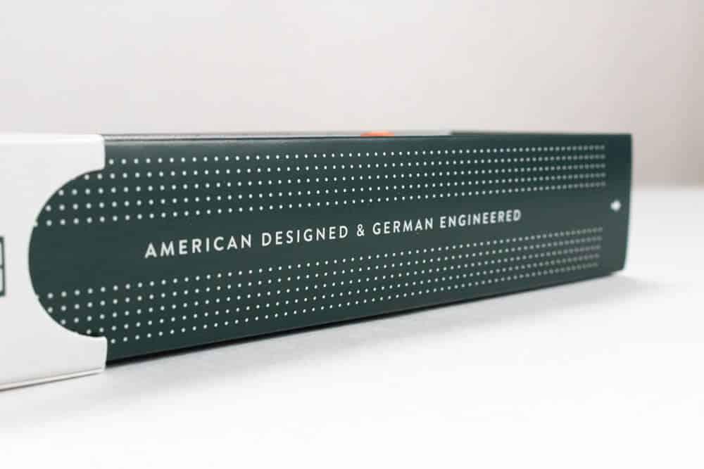harrys review unboxing - american designed german engineered