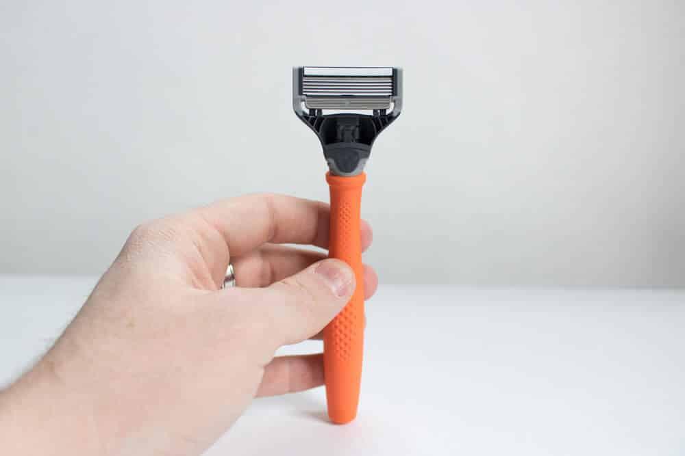 harrys review unboxing - razor