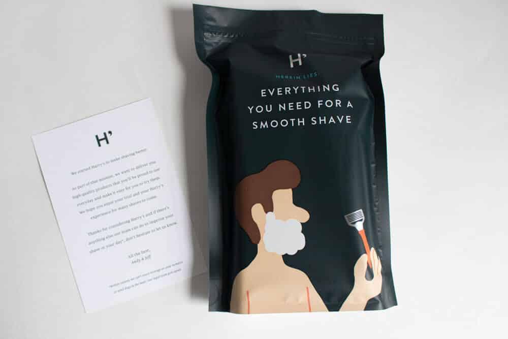 harrys review unboxing -