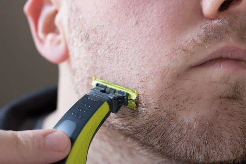oneblade review removing beard