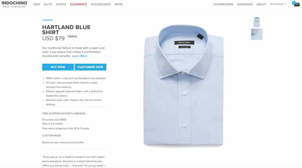 Indochino Review Dress Shirt
