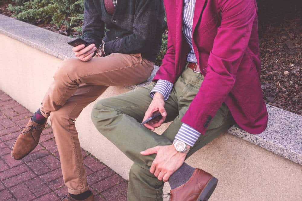 Chinos vs Khakis: Don't Commit A Fashion Faux Pas
