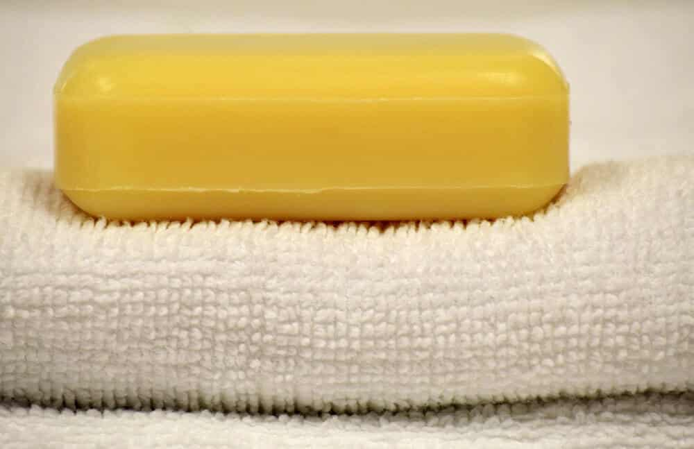 natural bar of soap