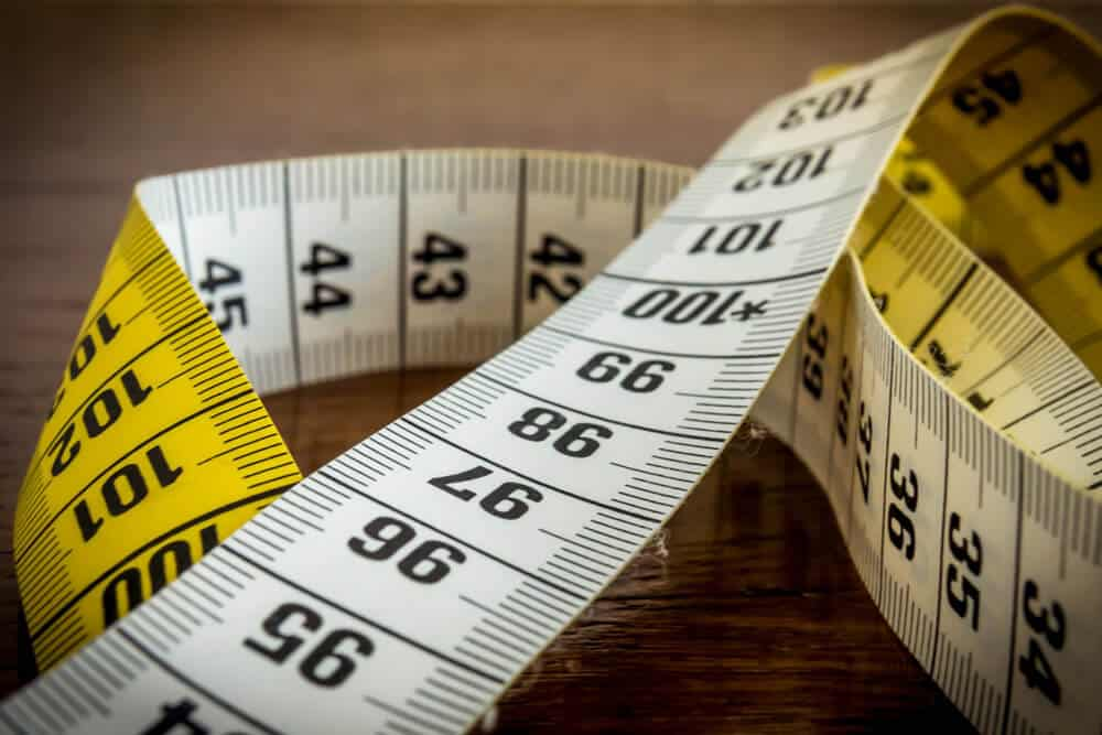 tape measure for custom suit