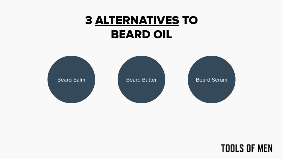 3 alternatives to beard oil