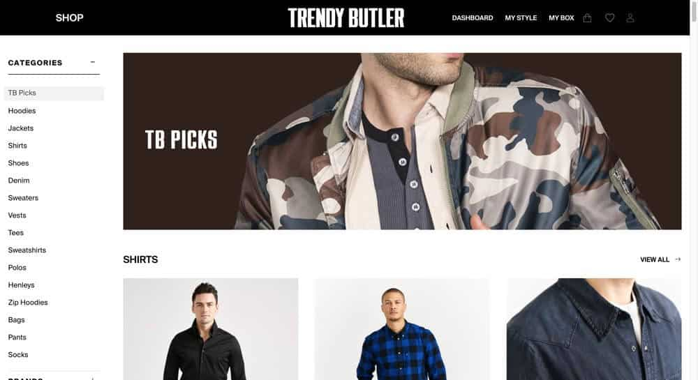 Trendy Butler Review Shop