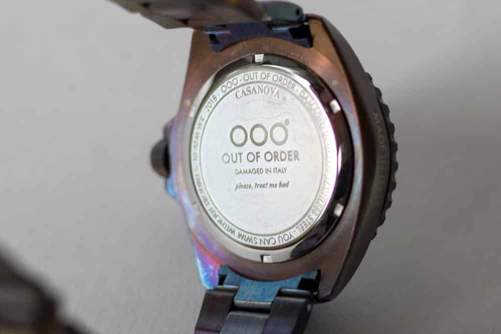 Watch Gang Review - OOO Case Back Watch