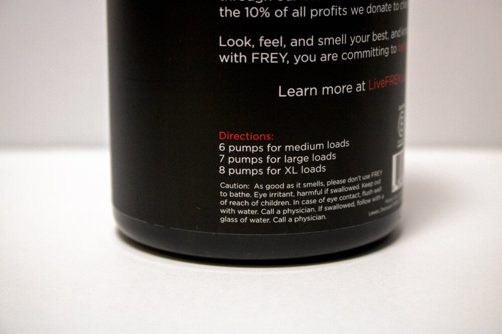 frey laundry detergent review