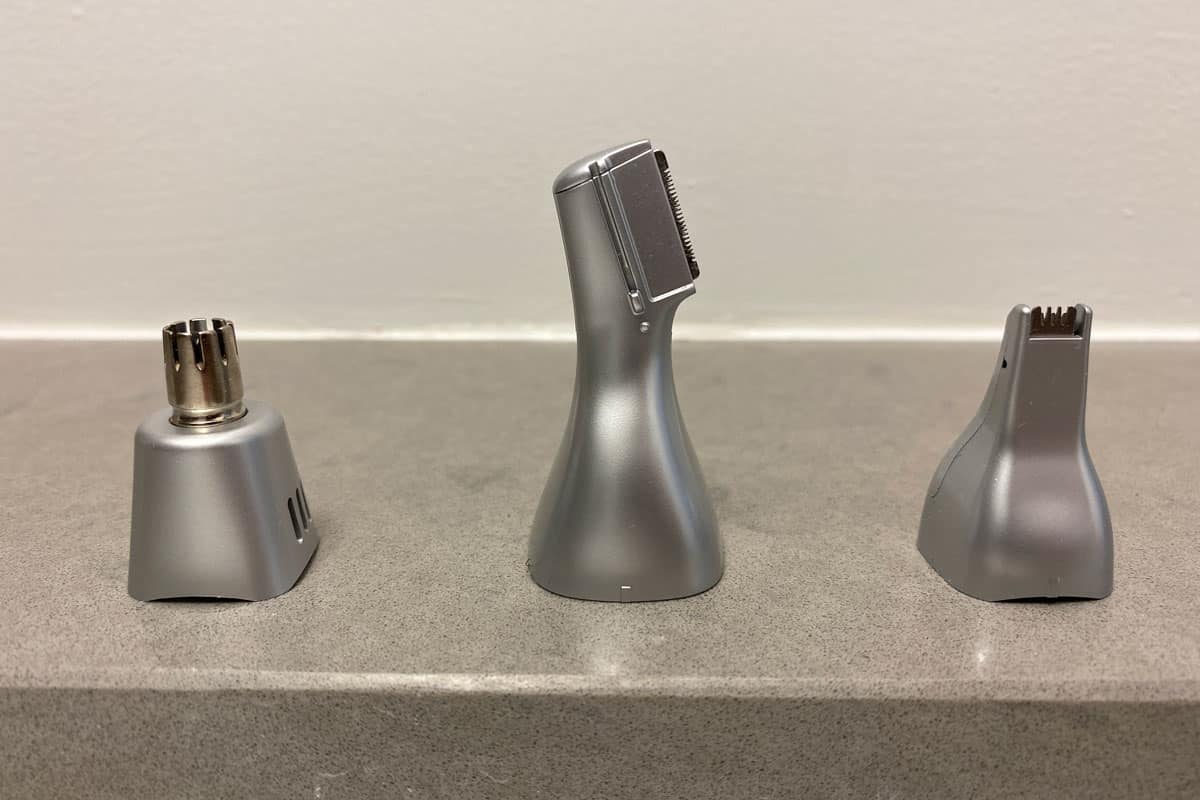 Different Ear Nose And Brow Trimmer Heads