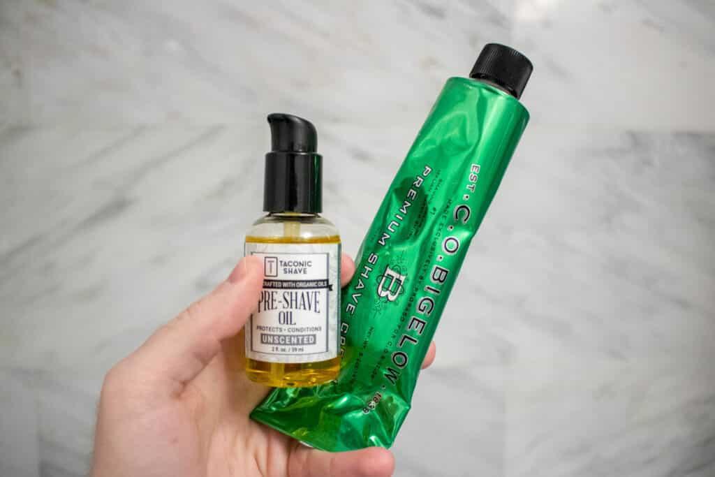 Shaving Oil vs Shaving Cream