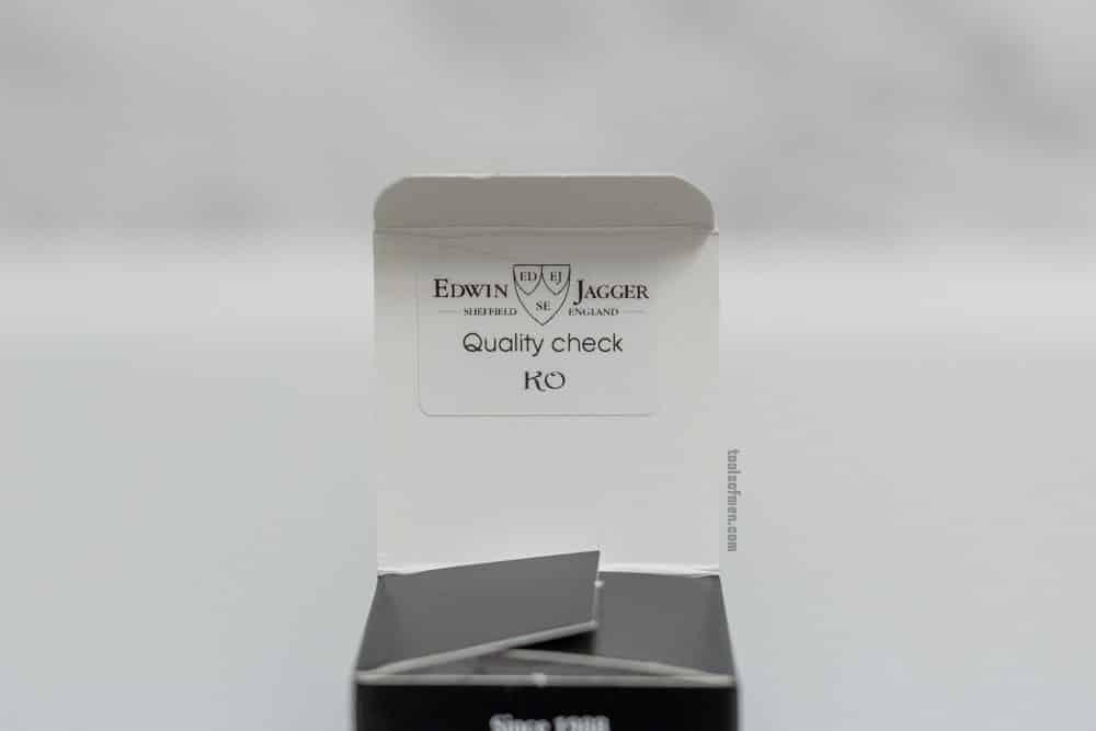 Edwin Jagger DE89 - Packaging