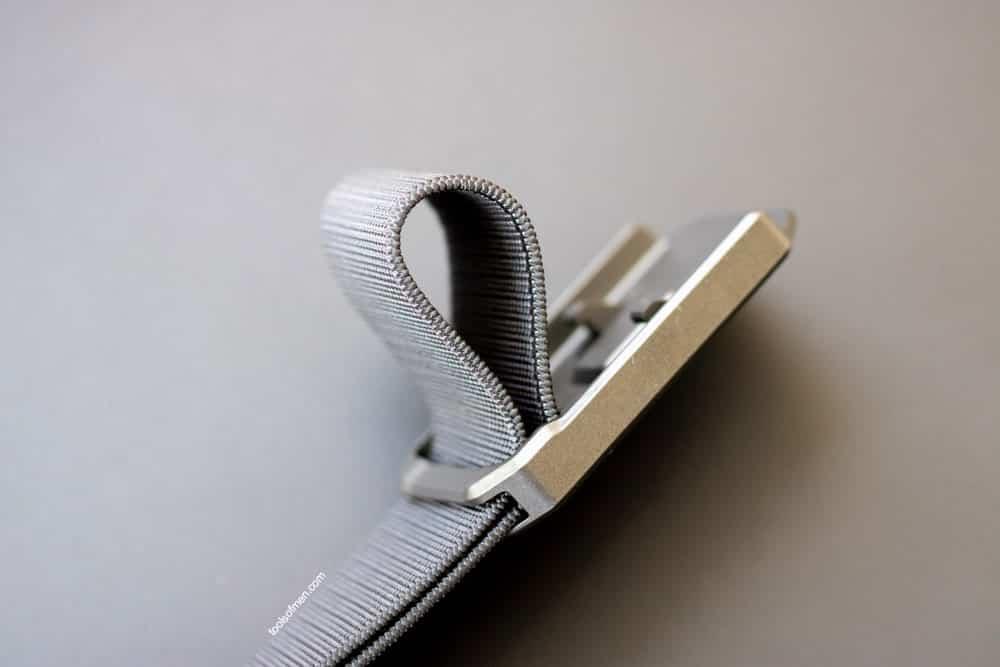Groove Belt Adjustment