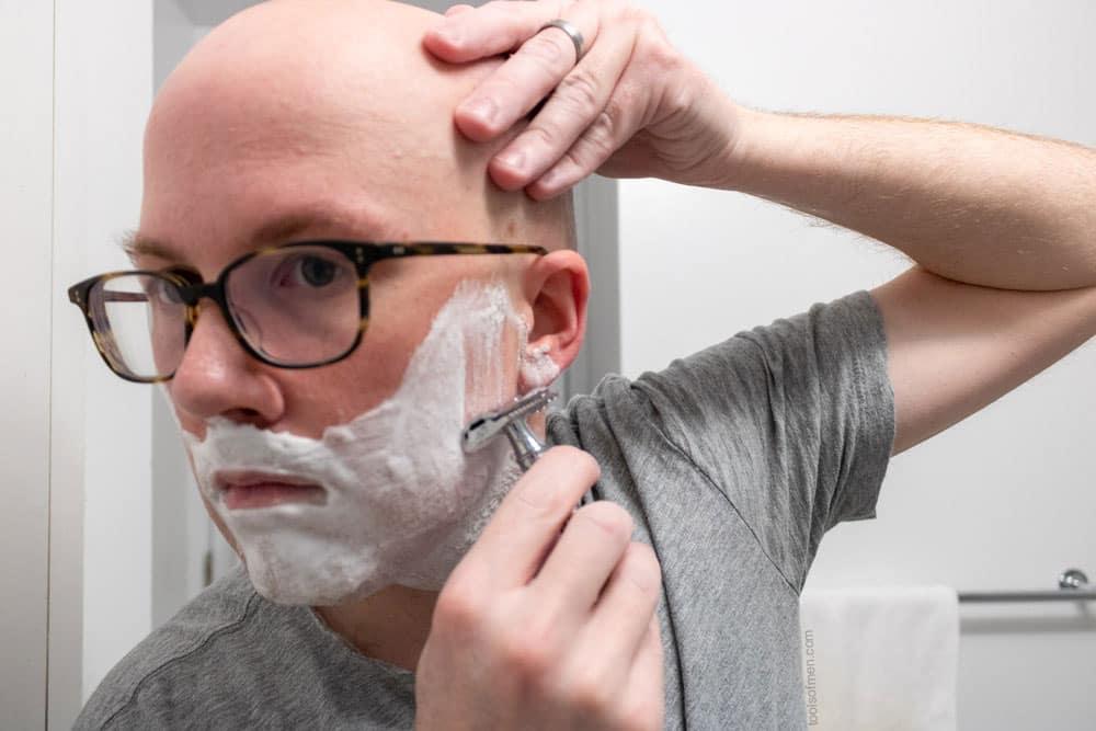 Edwin Jagger DE89 - Second Pass Shaving