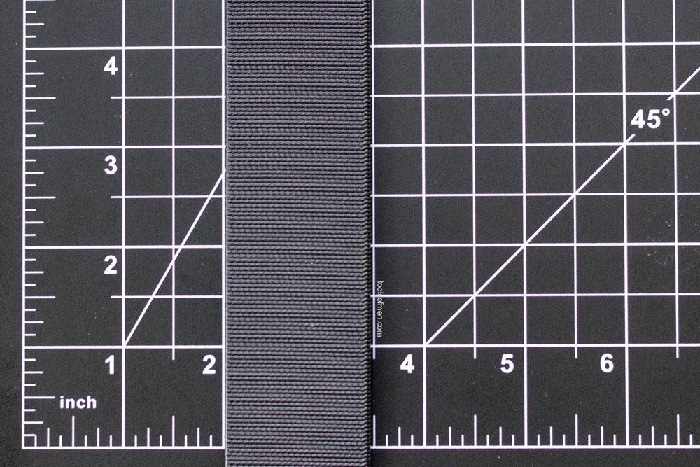 Groove Belt Measured Width