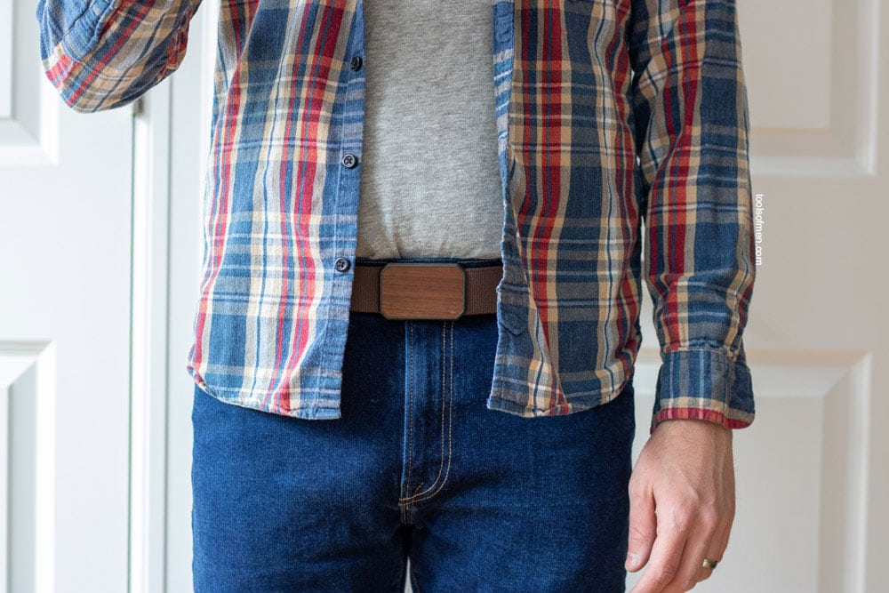The Groove Belt Pairs well with casual clothes