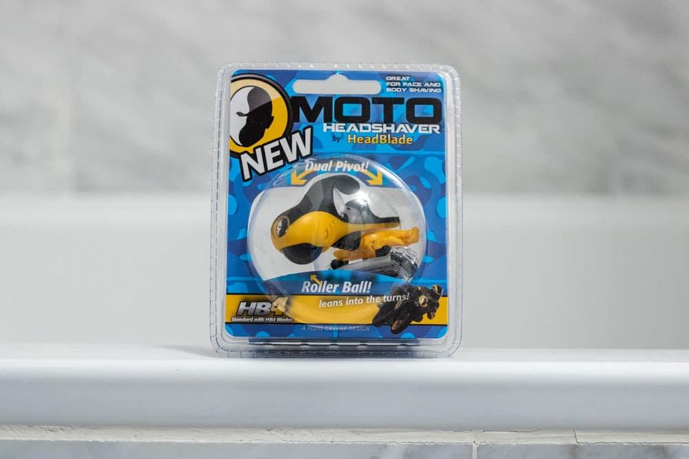 HeadBlade Moto packaging