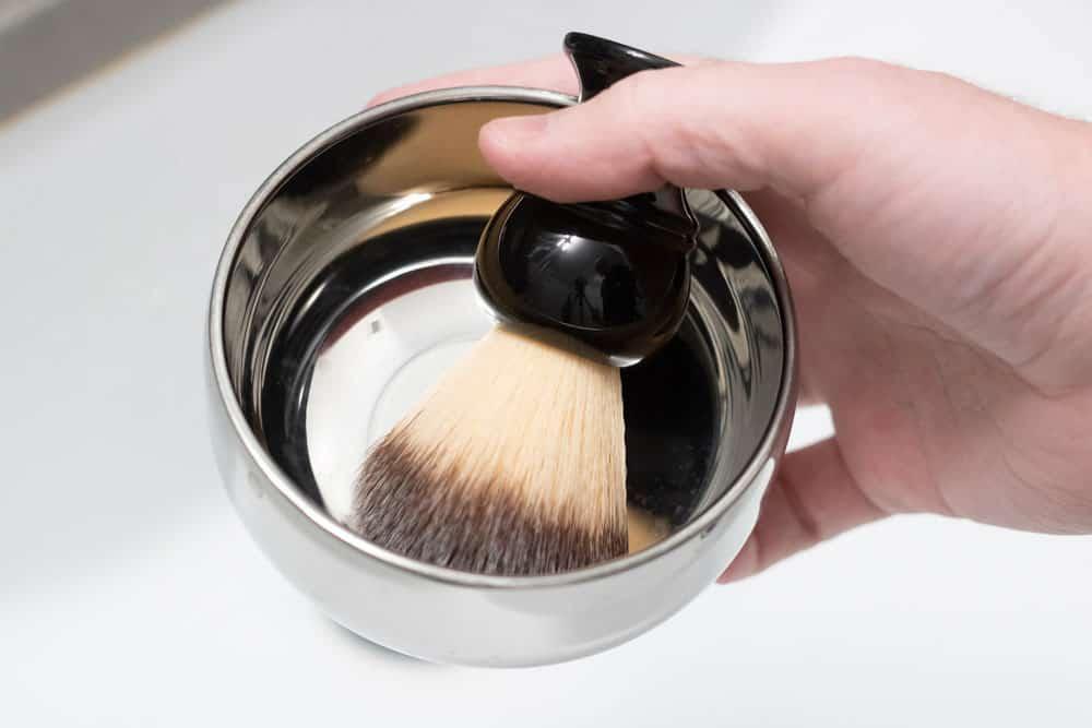 shaving brush bowl