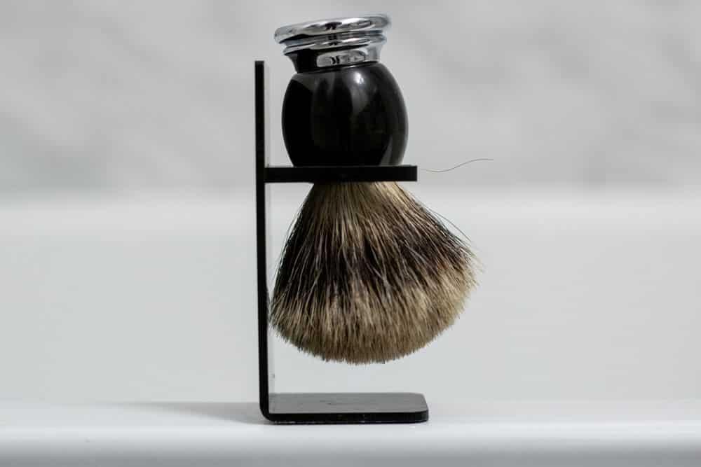 shaving brush stand