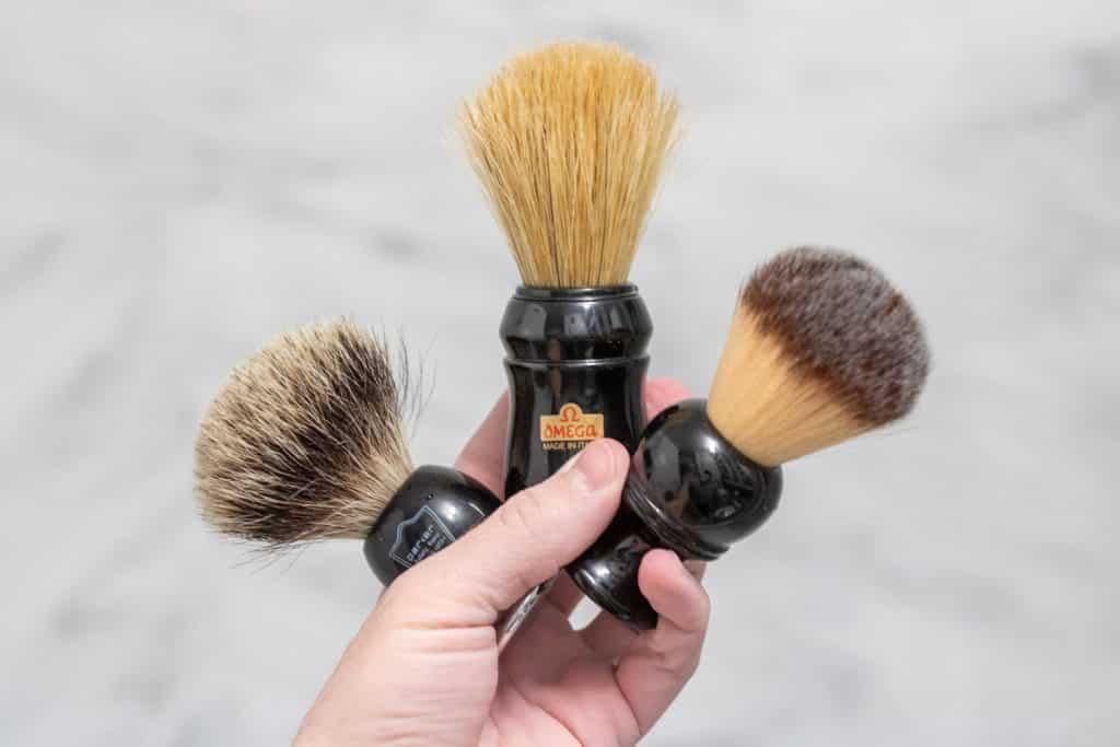 Shaving Brushes Overview